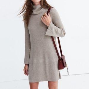 Madewell Merino Wool Alpaca Blend Sweater Dress XS